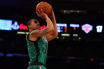 Courtney Lee of the Boston Celtics.