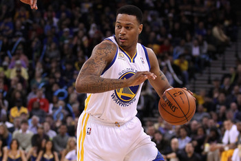 Brandon Rush of the Golden State Warriors.