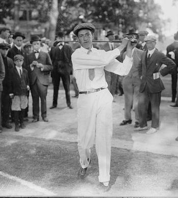 Francis Ouimet opened the eyes of the world about golf (via Daily Mail).
