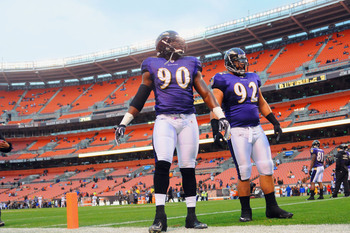 The Ravens feature a powerful line rotation.