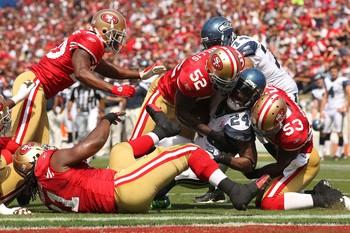 The 49ers possess a quartet of destructive linebackers.