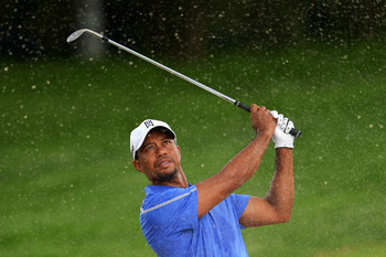 Tiger Woods just wasn't sharp with his irons on Thursday.