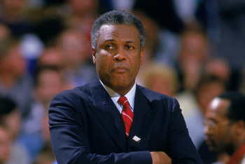 K.C. Jones appeared in four straight NBA Finals during his five year stint as head coach for the Celtics