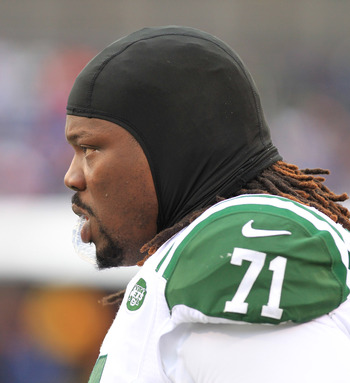 "Damon ""Snacks"" Harrison intercepted a Sanchez screen pass during OTAs."