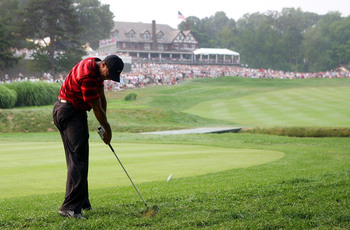 Baltusrol Lower has a couple very difficult finishing holes.
