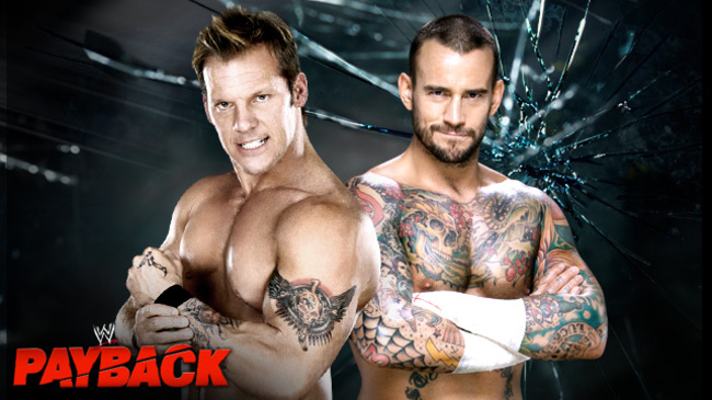 CM Punk vs. Chris Jericho (Courtesy of WWE.com)