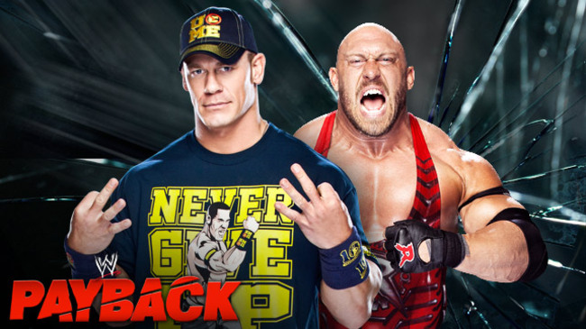 John Cena vs. Ryback (Courtesy of WWE.com)
