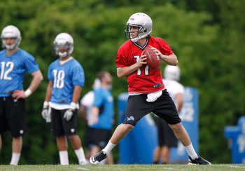 Kellen Moore has shown improved arm strength this offseason.