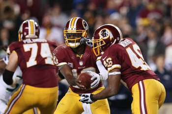 The read option won't disappear from Washington's playbook, but the Redskins could scale back in 2013.