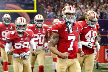 Colin Kaepernick has anointed himself one of San Francisco's new leaders on and off the field.