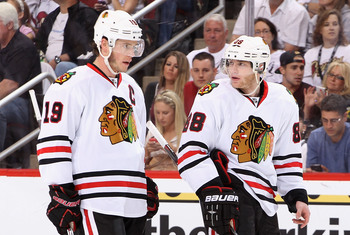 Patrick Kane and Jonathan Toews have struggled to get on the scoresheet this postseason.