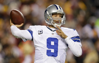 Romo finished third in the league in passing yards last season.