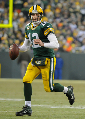 Rodgers is one of the premier passing options in the game.
