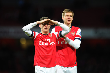 Few contenders boast the stability of Arsenal's centre-back partnership.