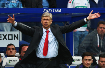 Relentless Arsene Wenger can drive Arsenal to the title.