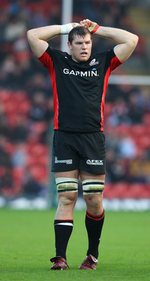 Hayden Smith with Saracens in 2011