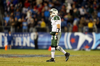 Seeing a dejected Mark Sanchez is my favorite thing ever.