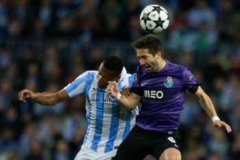 Joao Moutinho (right)