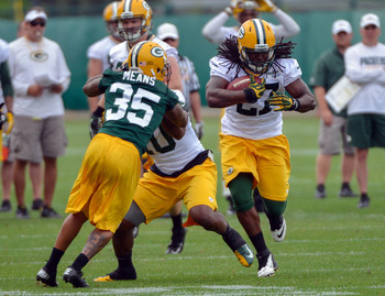 The Packers drafted Eddie Lacy to help their stagnant run game.