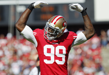 Aldon Smith is one of the best pass-rushers in the league.