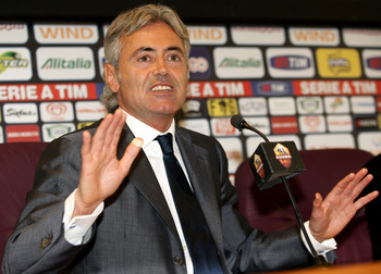 Franco Baldini, during his time at Roma.