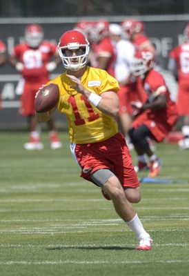 Trading for Alex Smith means that the Chiefs don't need to spend valuable time hoping a rookie QB catches on quickly.