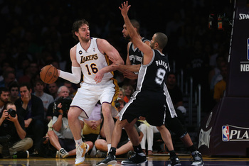Pau Gasol brings scoring efficiency to the table with his multiple skills.