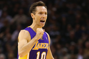 Steve Nash is the only Laker signed for the long haul.