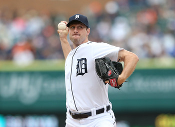 Scherzer is a big reason why the Tigers sit in first place in the AL Central.
