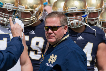 Does Brian Kelly want a piece of the Ducks?