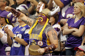 Purple isn't an overwhelmingly potent color in today's society. That's not the case for Minnesota fans.