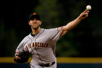 Madison Bumgarner has been the Giants' most effective starter this year.
