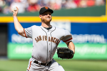 Chad Gaudin has been a pleasant surprise for the Giants.