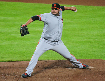 Jose Mijares pitched much better last year for the Giants.