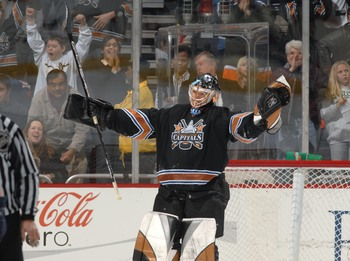 Simply the greatest goalie in the history of the franchise.