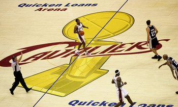 Cavaliers in the NBA Finals series with the San Antonio Spurs