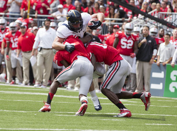 The Buckeyes are ready to gang tackle Cal and the Pac-12 again in 2013