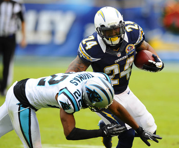 With the Chargers going though a transition, Ryan Mathews could be running an uphill battle