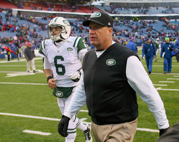 Rex Ryan was forced to lead a sinking ship in 2012