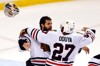 It is hard to believe the Caps are stuck with Jeff Schultz, while Johnny Oduya is now a Stanley Cup champion.