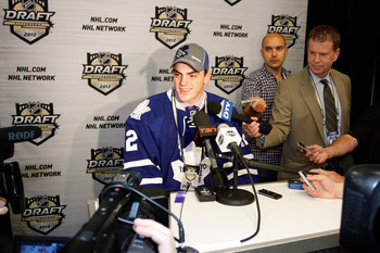 Last year's draft saw the Leafs net two impressive young defensemen in the early rounds.