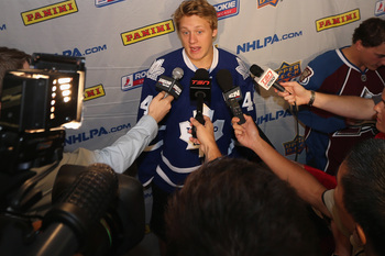 Morgan Rielly may not see much action with the Leafs this season, but he is undoubtedly on the rise.