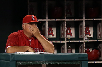 Scioscia in a June 1 loss to the Astros.