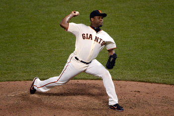 The loss of Santiago Casilla has really hurt the Giants' bullpen.