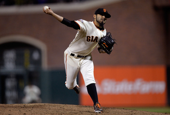 Sergio Romo has 18 saves for the Giants.