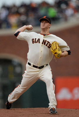 Matt Cain will lead the Giants into the second half.
