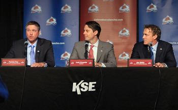 Could the Avalanche front office be thinking trade?