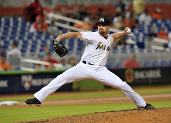 Although the Marlins say he's not on the market right now, this could be the last time of Mike Dunn donning a Marlins uniform if he gets traded.
