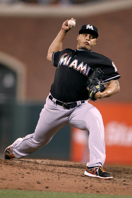 A.J. Ramos will probably continue to develop out of the Marlins bullpen in the second half of the year.