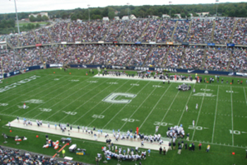 Rentschler Field in Hartford (Wikimedia Commons)